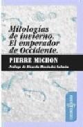 Libro MITOLOGIAS DE INVIERNO: EL EMPERADOR DE OCCIDENTE