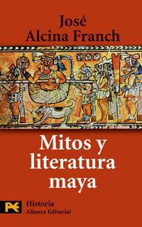 Libro MITOS Y LITERATURA MAYA