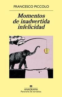 Libro MOMENTOS DE INADVERTIDA INFELICIDAD