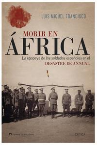 Libro MORIR EN ÁFRICA