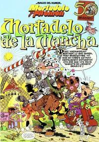 Libro MORTADELO DE LA MANCHA