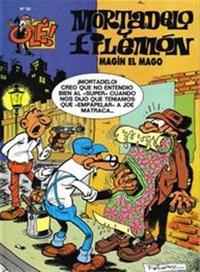 Libro MORTADELO Y FILEMON: MAGIN EL MAGO