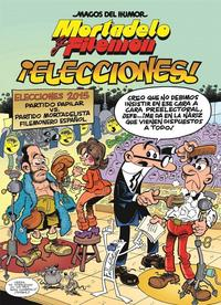 Libro MORTADELO Y FILEMON: ¡ELECCIONES!