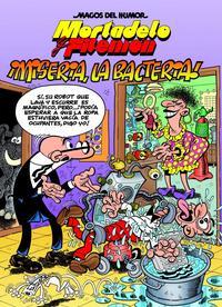 Libro MORTADELO Y FILEMON:¡MISERIA, LA BACTERIA!