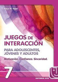 Libro MOTIVACION, CONFIANZA, SINCERIDAD: JUEGOS DE INTERACCION PARA ADO LESCENTES, JOVENES Y ADULTOS