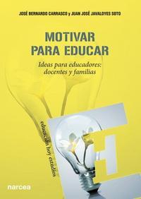 Libro MOTIVAR PARA EDUCAR