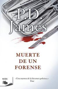 Libro MUERTE DE UN FORENSE