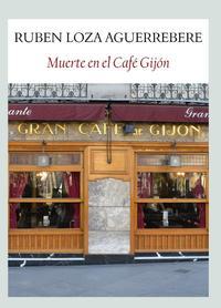 Libro MUERTE EN EL CAFE GIJON