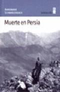 Libro MUERTE EN PERSIA