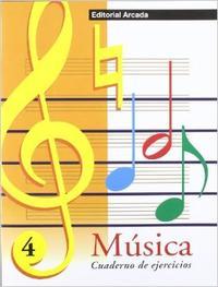 Libro MUSICA CUADERNO DE EJERCICIOS, Nº 4