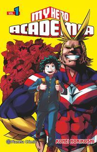 Libro MY HERO ACADEMIA Nº 01
