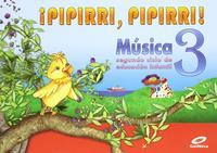 Libro MÚSICA 3–PIPIRRI, PIPIRRI