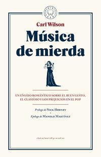 Libro MÚSICA DE MIERDA