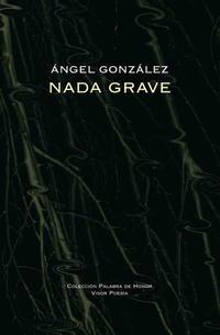 Libro NADA GRAVE