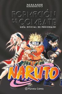 Libro NARUTO GUIA 1: FORMACION DE COMBATE