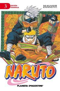 Libro NARUTO Nº3