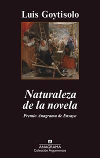 Libro NATURALEZA DE LA NOVELA