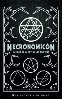 Libro NECRONOMICON LEY MUERTOS