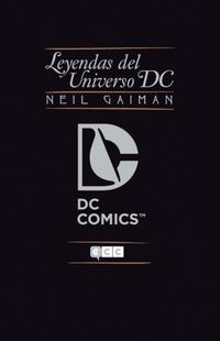 Libro NEIL GAIMAN: LEYENDAS DEL UNIVERSO DC