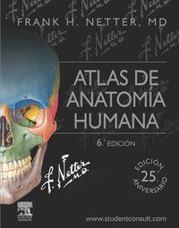 Libro NETTER. ATLAS DE ANATOMÍA HUMANA