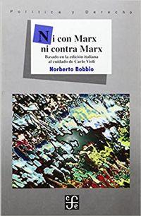 Libro NI CON MARX NI CONTRA MARX