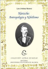 Libro NIETZCHE: ANTROPOLOGIA Y NIHILISMO