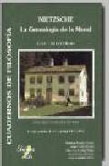 Libro NIETZSCHE: GENEALOGIA DE LA MORAL