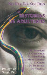 Libro NO HAY DOS SIN TRES: HISTORIAS DE ADULTERIO