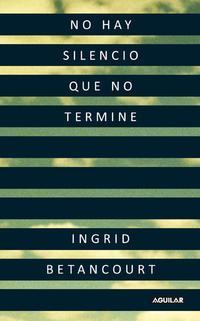 Libro NO HAY SILENCIO QUE NO TERMINE