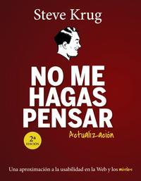 Libro NO ME HAGAS PENSAR. ACTUALIZACIÓN