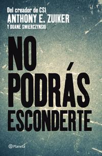 Libro NO PODRAS ESCONDERTE