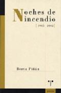 Libro NOCHES DE INCENDIO