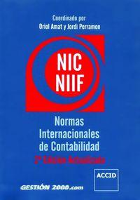 Libro NORMAS INTERNACIONALES DE CONTABILIDAD NIC/NIIF 2006
