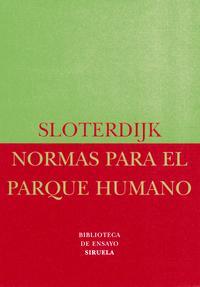 Libro NORMAS PARA EL PARQUE HUMANO