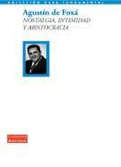 Libro NOSTALGIA, INTIMIDAD Y ARISTOCRACIA