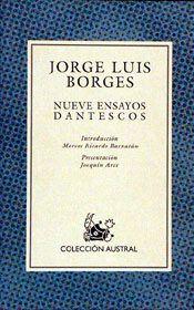 Libro NUEVE ENSAYOS DANTESCOS