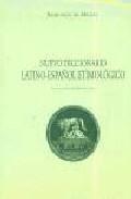 Libro NUEVO DICCIONARIO LATINO-ESPAÑOL ETIMOLOGICO