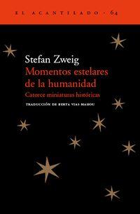 Libro NUEVOS MOMENTOS ESTELARES DE LA HUMANIDAD