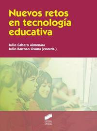 Libro NUEVOS RETOS EN TECNOLOGIA EDUCATIVA