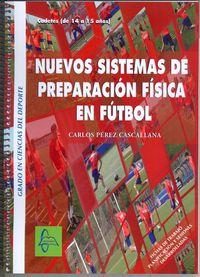 Libro NUEVOS SISTEMAS PREPARACION FISICA EN FUTBOL CADETE