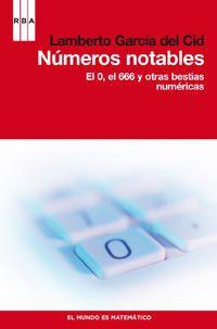 Libro NUMEROS NOTABLES
