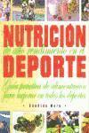 Libro NUTRICION DE ALTO RENDIMIENTO EN EL DEPORTE: GUIA PRACTICA DE ALI MENTACION PARA MEJORAR EN TODOS LOS DEPORTES