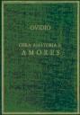 Libro OBRA AMATORIA I. AMORES
