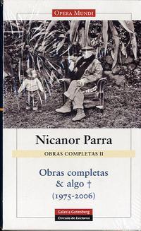 Libro OBRAS COMPLETAS Y ALGO MAS: 1975-2006