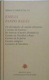 Libro OBRAS COMPLETAS, IX: UN DESTRIPADOR DE ANTAÑO; EN TRANVIA; CUENTOS DE NAVIDAD Y REYES; CUENTOS DE LA PATRIA; CUENTOS ANTIGUOS; LECCIONES DE LITERA