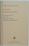 Libro OBRAS COMPLETAS, VIII: CUENTOS NUEVOS; ARCO IRIS; CUENTOS DE AMOR ; CUENTOS SACRO-PROFANOS