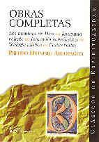 Libro OBRAS COMPLETAS: LOS NOMBRES DE DIOS, JERARQUIA CELESTE, JERARQUI A ECLESIASTICA, TEOLOGIA MISTICA, CARTAS VARIAS