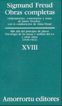Libro OBRAS COMPLETAS: MAS ALLA DEL PRINCIPIO DE PLACER PS ICOLOGIA DE LAS MASAS Y ANALISIS DEL YO Y OTRAS OBRAS