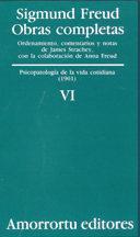 Libro OBRAS COMPLETAS: PSICOPATOLOGIA DE LA VIDA COTIDIANA