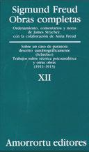 Libro OBRAS COMPLETAS: SOBRE UN CASO DE PARANOIA DESCRITO AU TOBIOGRAFICAMENTE; TRABAJOS SOBRE TECNICA...                      OBRASTRAS OBRAS